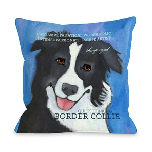 (9) Fab.com | Throw Pillows For Canine Lovers