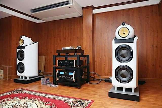 B&W 800D driven by McIntosh with a Vpi Classic tt