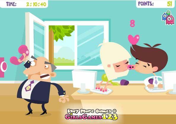349 mejores im genes sobre juegos online en juegamania en for Juego besos en la oficina