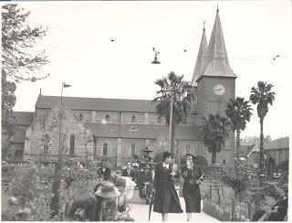 Parramatta Heritage: St John's Cathedral, Parramatta history NSW