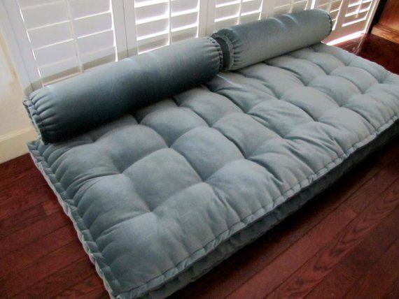 Custom Cushions Velvet Daybed Mattress French Mattress Quilting