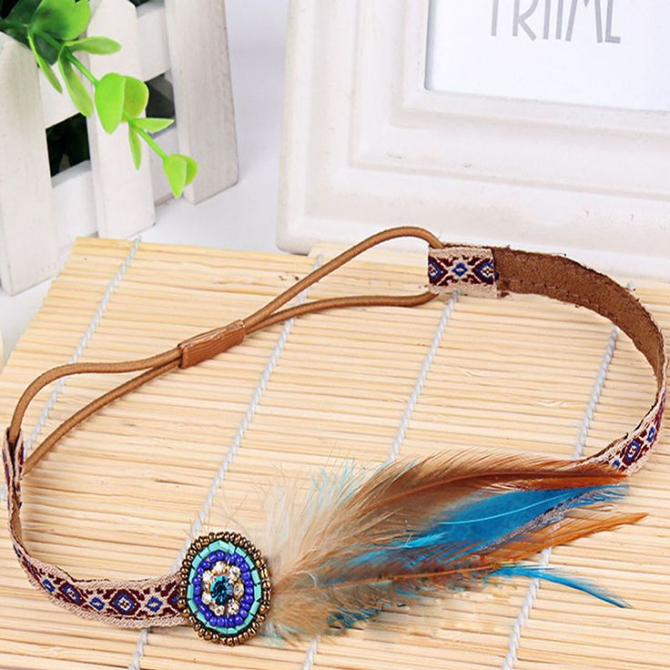 Trendy Gypsy Handmade Fancy Boho Feather Braided Rope Headband For Women New Free Shipping  //Price: $ US $1.20 & FREE Shipping Worldwide//       #clothing #fashion #makeup #lips #face #dress #lipstick #style #trend