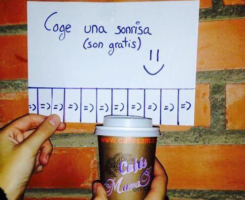 Coge una #sonrisa ( son gratis) :) #smile #freesmile #sonrisagratis