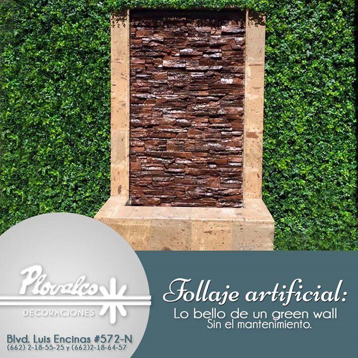 El Follaje Artificial en mosaico es ideal para aumentar la luminosidad y la atencion a detalles de tus muros. Todos los modelos que nosotros manejamos tienen una apariencia muy frondosa y sumamente natural. Ven a conocerlos en Plovalco! - http://ift.tt/1QIZuz0