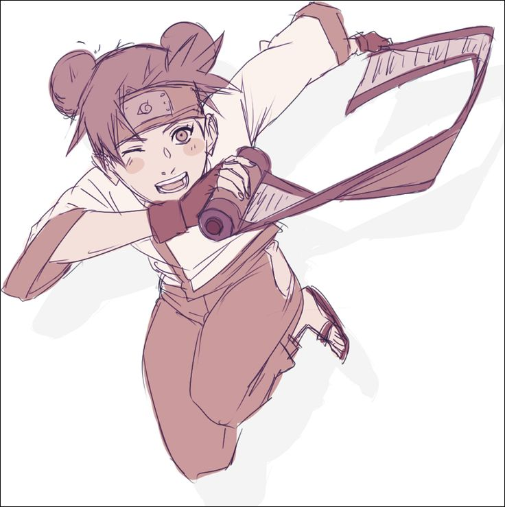 Day 21: underrated character: Naruto - Tenten
