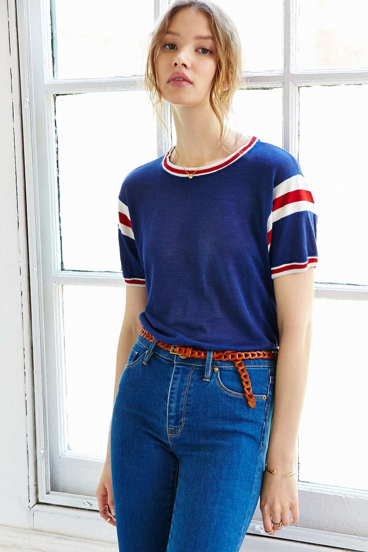 Vintage Russell Athletic Jersey - Urban Outfitters