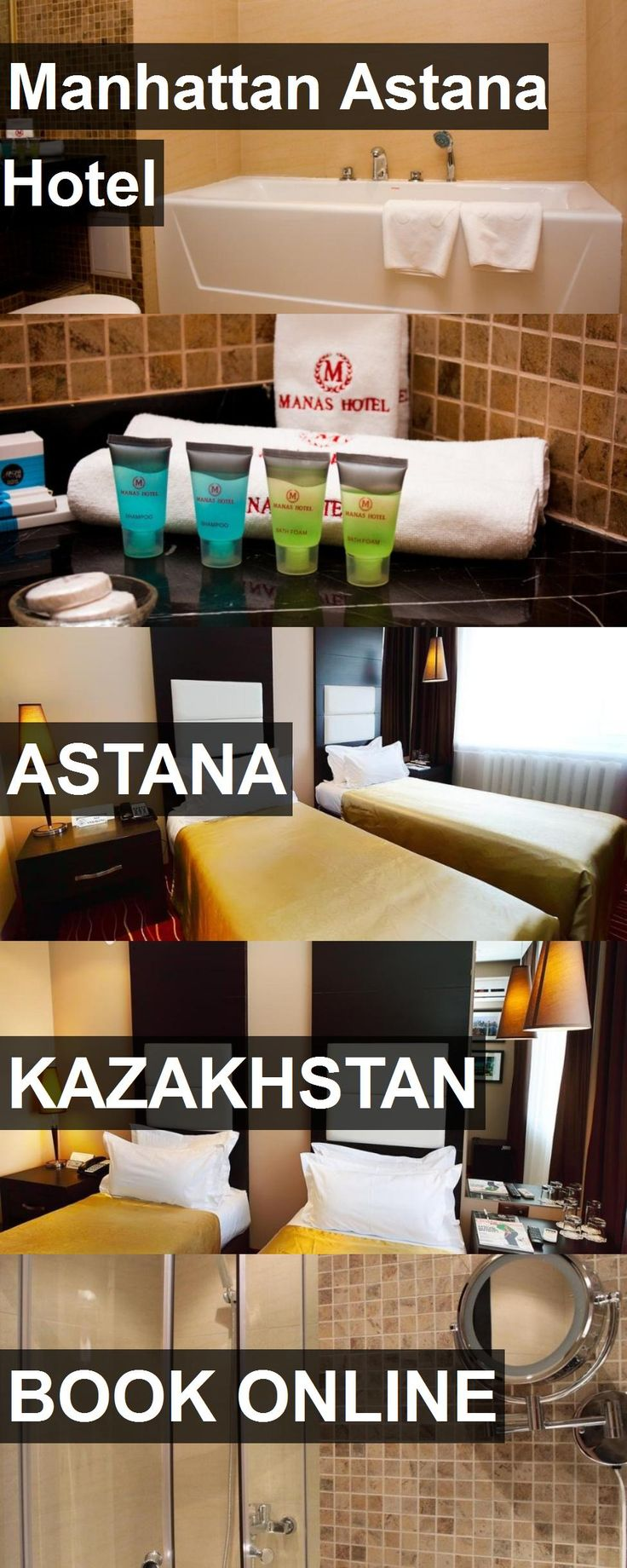 Hotel Manhattan Astana Hotel in Astana, Kazakhstan. For more information, photos, reviews and best prices please follow the link. #Kazakhstan #Astana #ManhattanAstanaHotel #hotel #travel #vacation