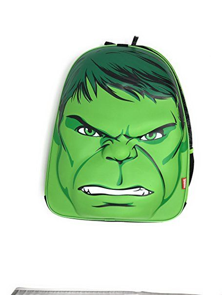 a1f38939af24 Disney Marvel Avengers Hulk Backpack