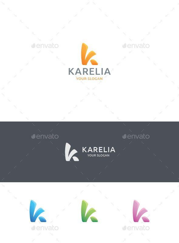 K Letter Logo — Vector EPS #plastic #studio • Available here → https://graphicriver.net/item/k-letter-logo/11787090?ref=pxcr