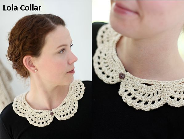 Crochet Collar Kit by KnitCrate | KNITCRATE EXCLUSIVE Collars are in! We worked directly with Emma Escott to bring you these lovely new crochet collar designs.