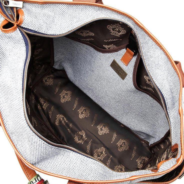 Amazon.co.jp: (オロビアンコ) Orobianco トートバッグ ARINNA GRIGIO×MATTONE [並行輸入品]: シューズ&バッグ:通販