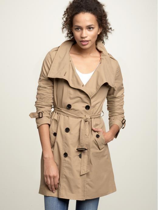 Gap trench coat women