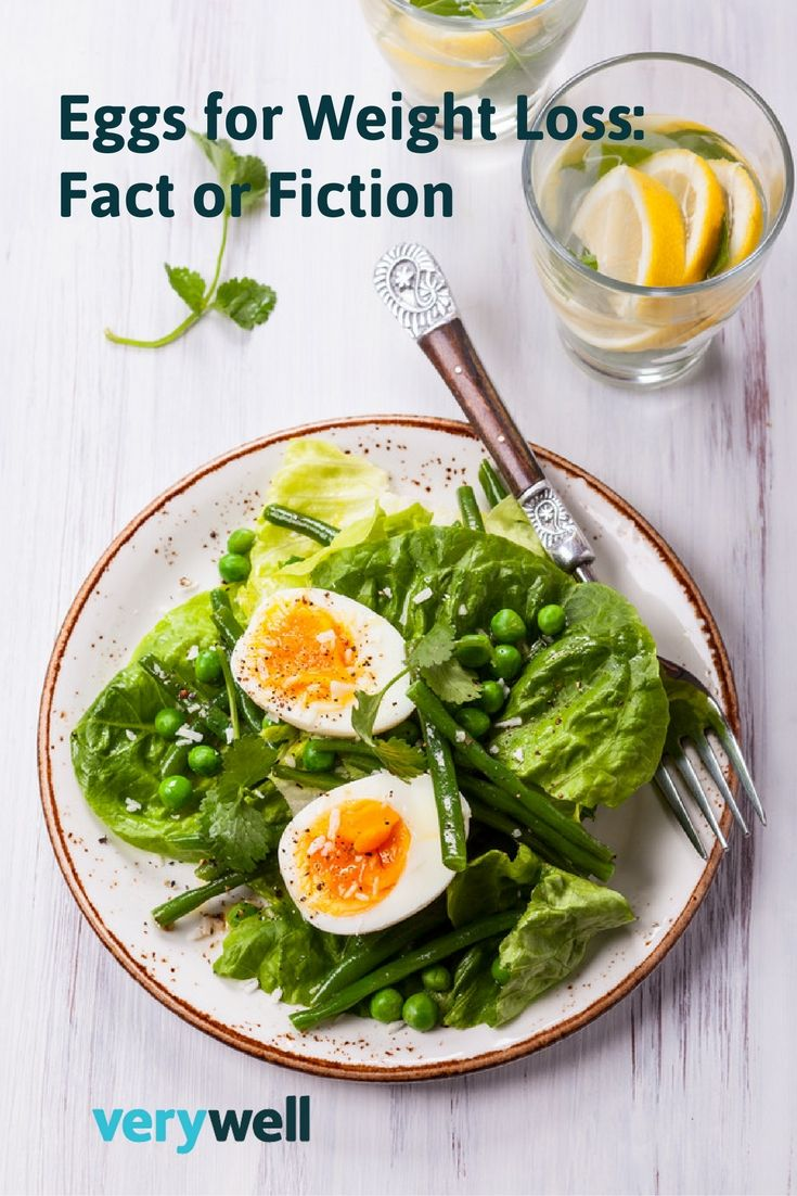 Several studies have shown that eating eggs for breakfast (compared to a bagel-based breakfast with a similar calorie count) could help people lose weight. In one study, the group who ate eggs for their morning meal ended up eating fewer calories during the following 36 hours than the bagel-eating group. And in another study, those who ate eggs in the morning lost twice as much weight than bagel eaters. Learn more about the potential benefits of eggs here!