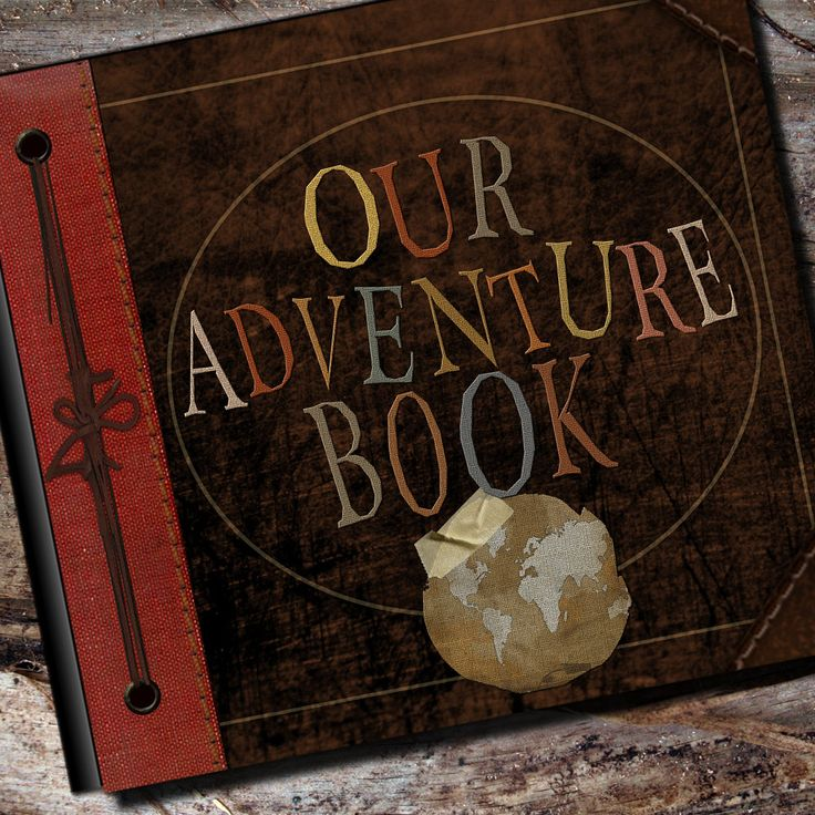 Up Adventure Book Photo Album Scrapbook by AlbumOptions on Etsy, $55.95