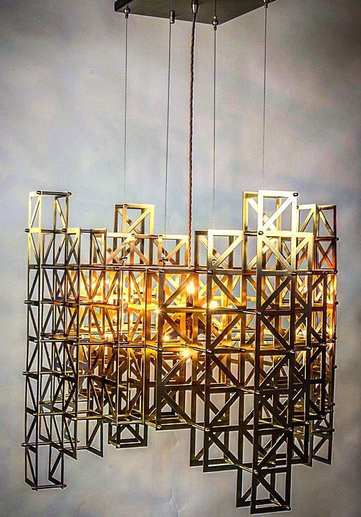 New v lab pontes ceiling lamp solide brass handwork proud work