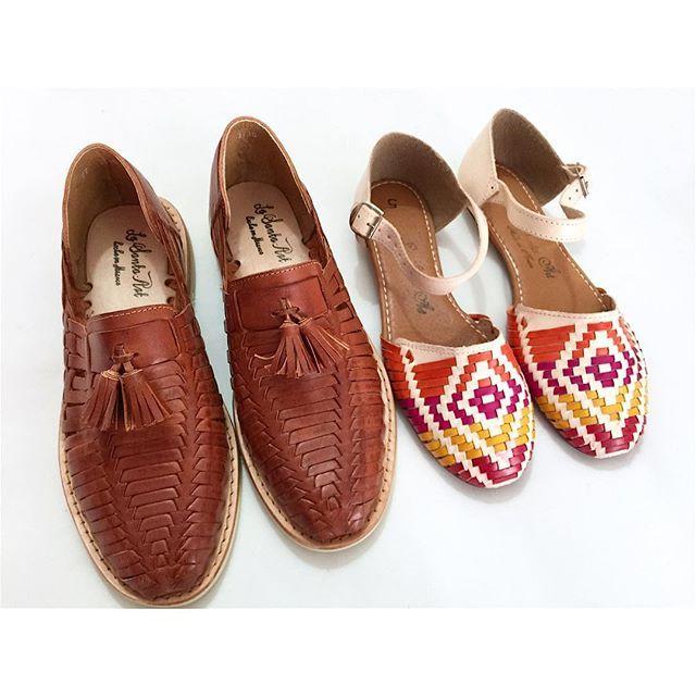 #mulpix Tú y yo con estas bellezas  • Motas Caballero chedron /• • Sandalias primavera Natural/Colores /•   #LaSantaArt  #Diseño  #Mexican  #CalzadoArtesanal  #Mexicolors  #mexicanbrand  #madeinMexico  #zapatoartesanal  #handmade  #artisan  #artesanal tienda en línea actualizada  https://www.kichink.com/stores/lasantaart  #shoponline  #kichink