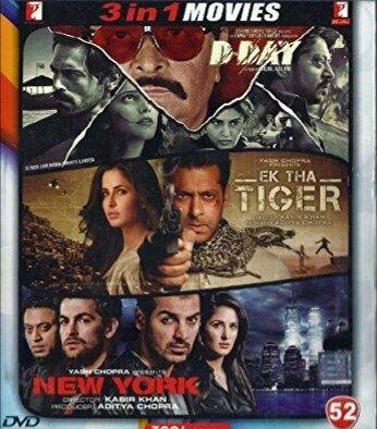 D Day/Ek Tha Tiger/New York @ Rs.23  Amazon