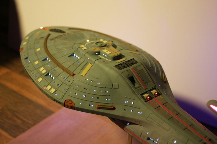 Revell USS Voyager Build