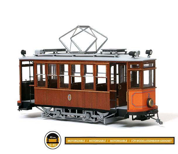 Building The Occre Barcelona Tram Kit