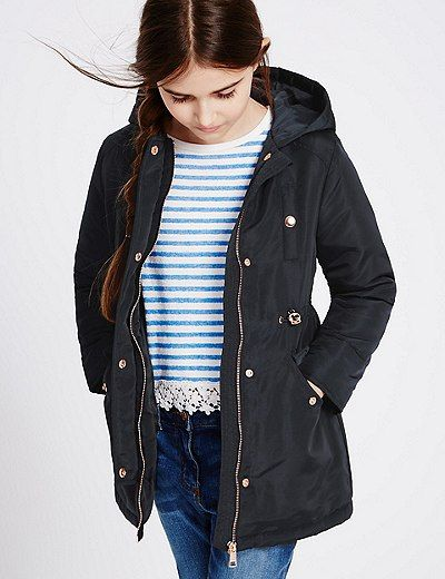 Hooded Parka Coat (3-14 Years) | Marks & Spencer London