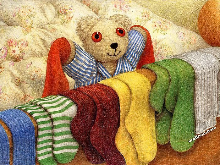 Jane Hissey : Hoot, Lovely Stuffed Animals  - Little Old Bear - Heartwarming illustrations of Teddy Bear 1