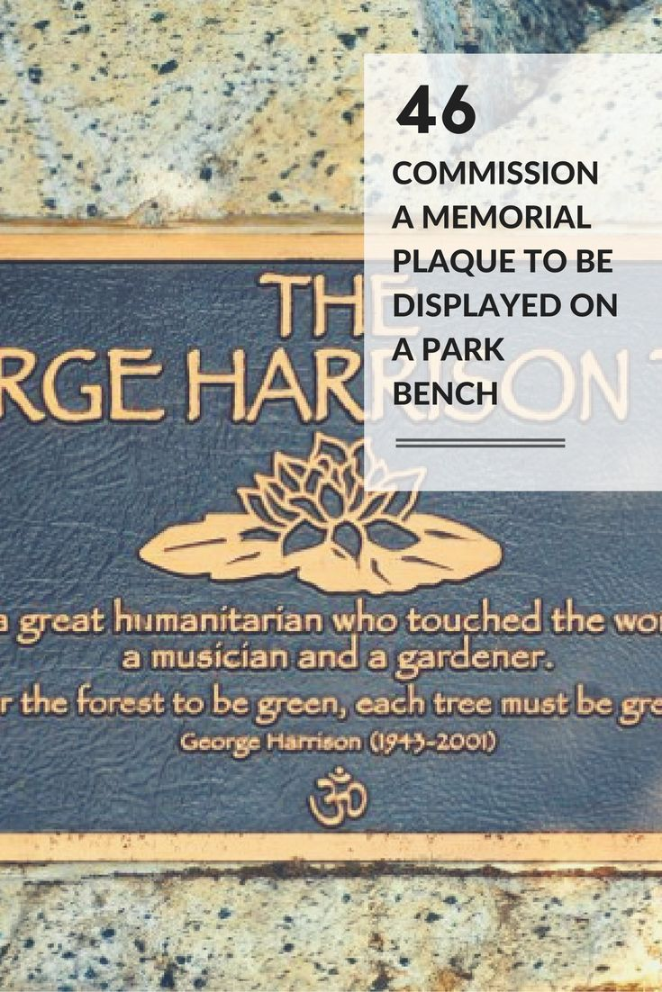 The 25 Best Memorial Plaques Ideas On Pinterest