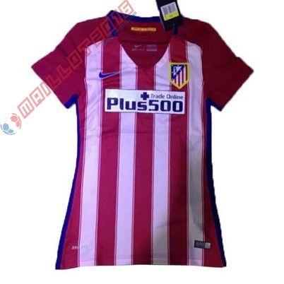 Nouveau maillot de foot Femme Domicile Atletico Madrid 2016 €18.99