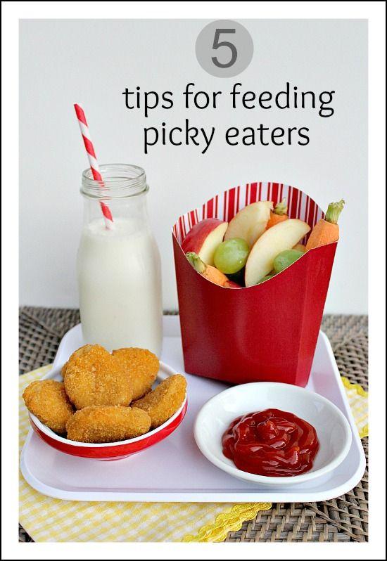 5 tips for feeding picky eaters