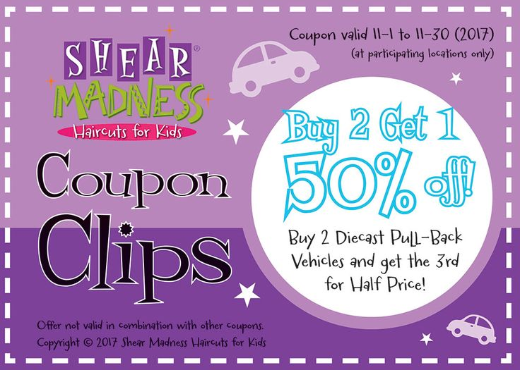 Buy 2 Diecast Pull-Back Vehicles and get the 3rd for Half Price! See: http://franchise.shearmadnesskids.com/save-shear-madness-partners #coupon #sale #specialsale #haircare #greatdeal #kidshaircuts #kidshairsalon #fun4kids #parenting #modernparenting #diecast #cars #vehicles #toys