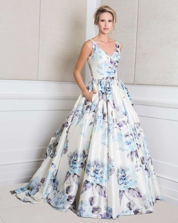 Floral Wedding Gowns | Stay At Home Mum