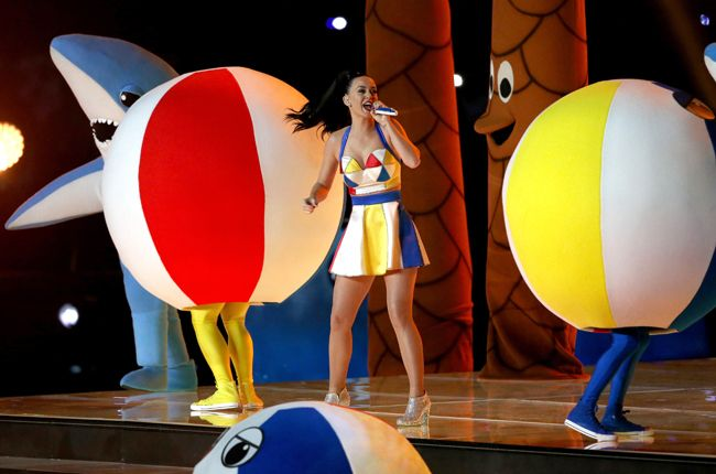 Super Bowl 2015: Watch Katy Perry Shine During Halftime Extravaganza | Billboard