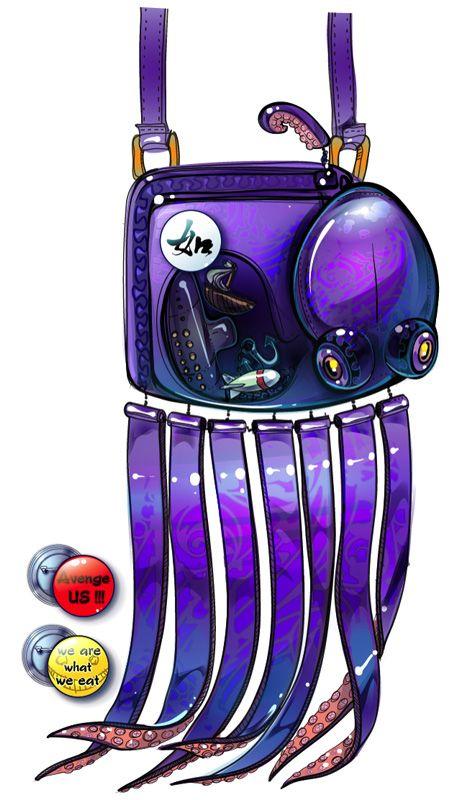 handbag Kraken