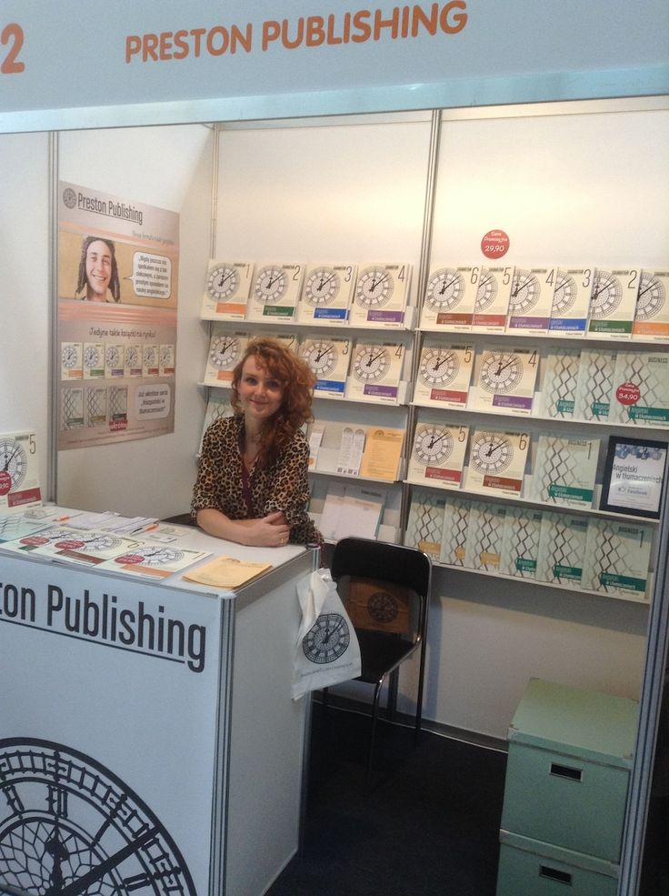Preston Publishing na targach książek językowych