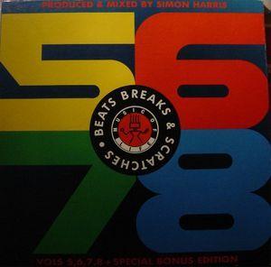Simon Harris - Beats Breaks & Scratches - Vols 5, 6, 7, 8 + Special Bonus Edition (Vinyl, LP, Album, LP, Album, LP, Album, LP, Album) at Discogs