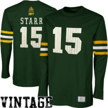 new arrival c46a0 023fa green bay packers 15 bart starr green short sleeved ...