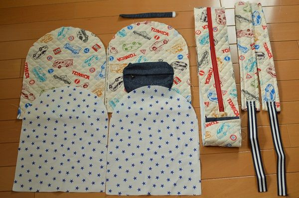 Prism diary 子供用リュックサックの作り方④★組立&完成編★