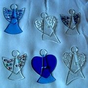In Mirtos: Gallery Thea - Glass Art and More - Fused Glass Angels