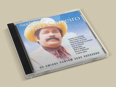 Cd Saudades de Tião Carreiro - Abacate Musical