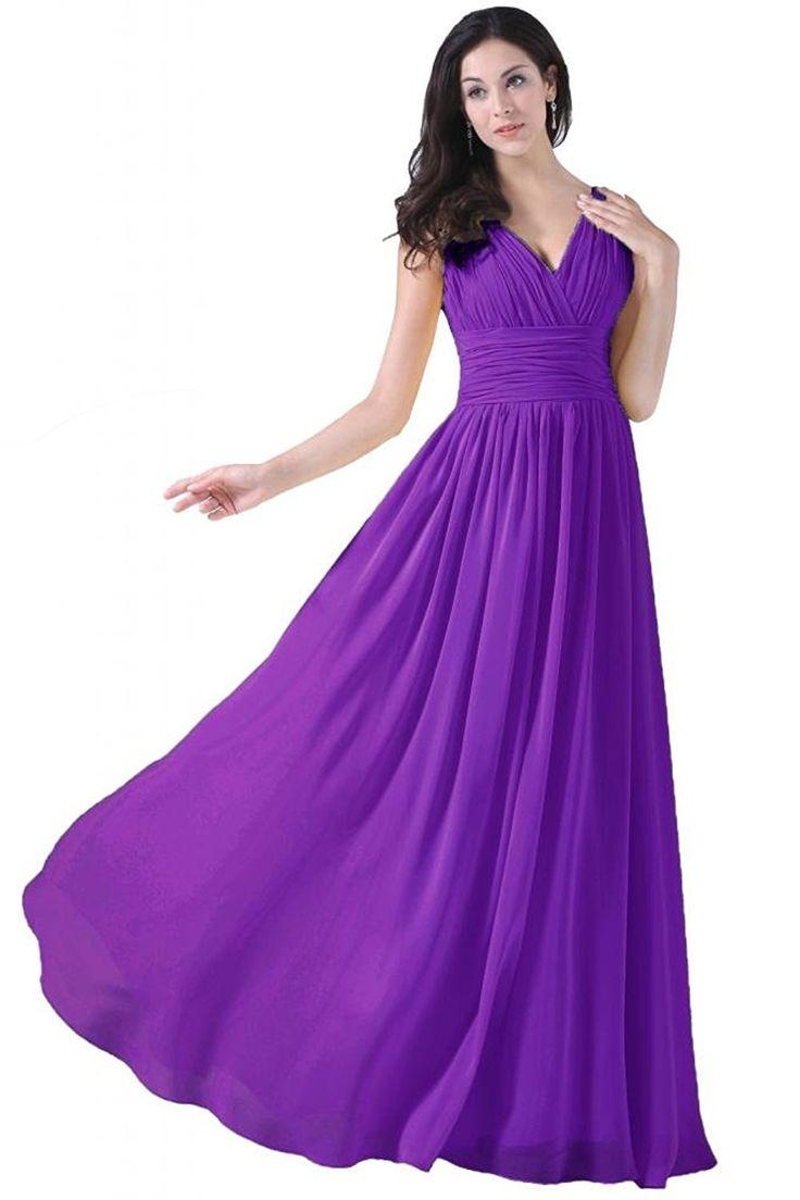 37 best maid of honor Dress purple plus size images on Pinterest ...