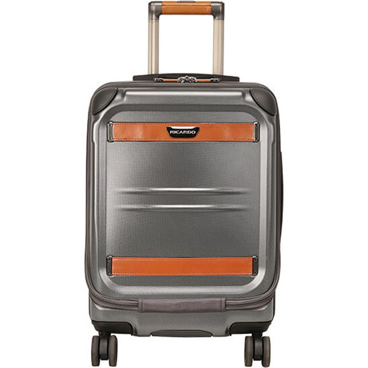 Ricardo Ocean Drive Mobile Office Suitcase - Silver | Buy Carry On Suitcases