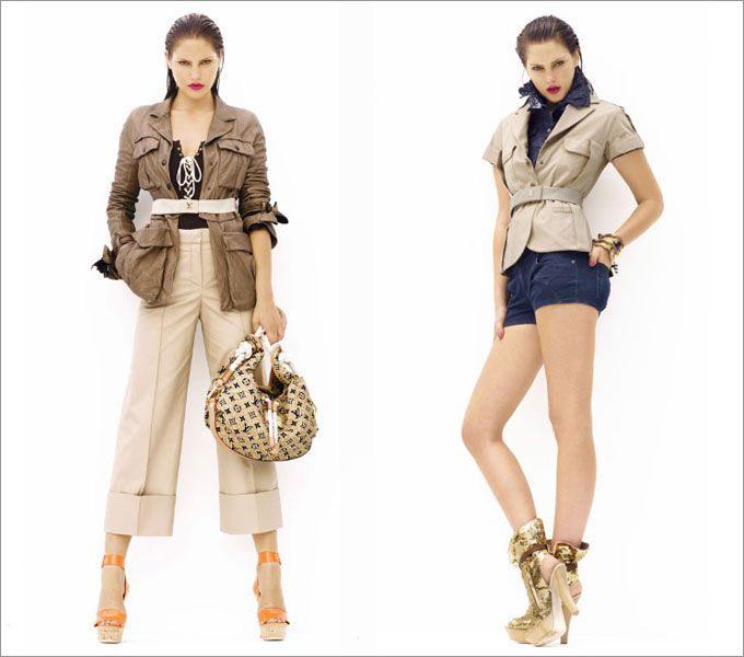 Стиль сафари: классика и актуальные интерпретации |Весна-лето 2016 на Fashion-fashion.ru