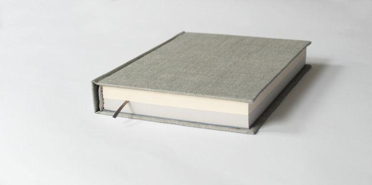 kremowo-szary pół/pół A5, 180k - Kajet - Notatniki A5