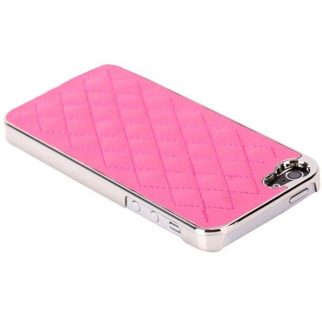 Rio - Chrome Edge (Pinkki) iPhone 5 Suojakuori - http://lux-case.fi/rio-chrome-edge-pinkki-iphone-5-suojakuori.html