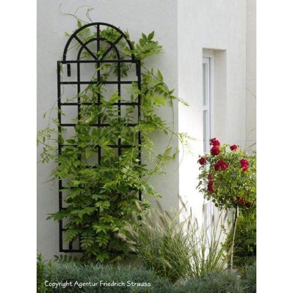 Arch Top Wall Trellis Orangerie Classic Garden Elements Wall