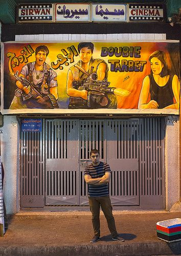 Man In Front Of A Movie Theatre, Suleymanyah, Kurdistan, IraqMy top 1000 pics On App Store: http://itunes.com/apps/lafforgueHD On Android: https://play.google.com/store/apps/details?id=com.ericlafforgue&hl=en