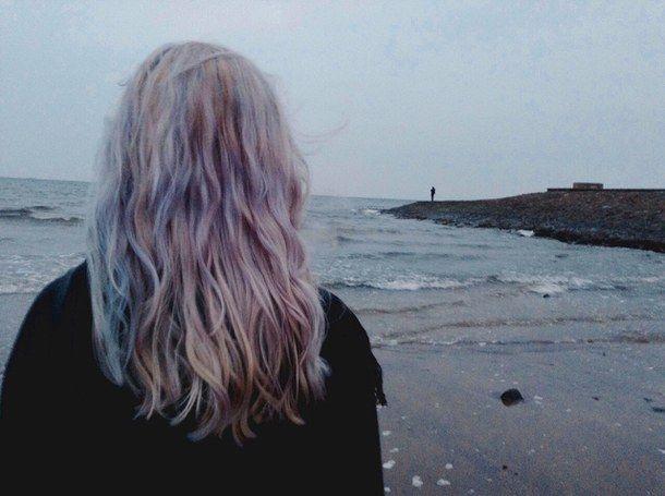 крашеные волосы, краситель, гранж, волосы, океан, пастель, пастельные волосы, фиолетовый