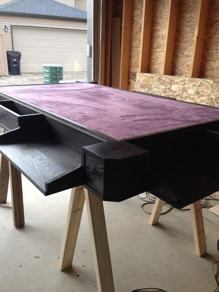 Beautiful My Custom Game Table   Inspired By Geekchic.