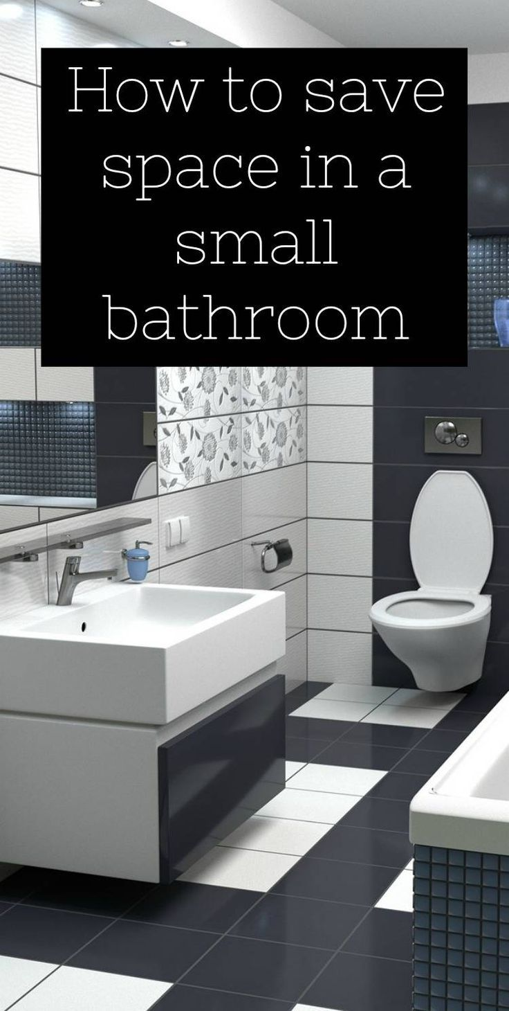 How to save space in a small bathroom, small bathroom design tips. Designing a small bathroom that meets you needs and looks spacious needs some special consideration..click through for space saving tips
