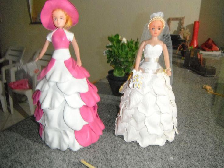 bonecas vestidas de eva