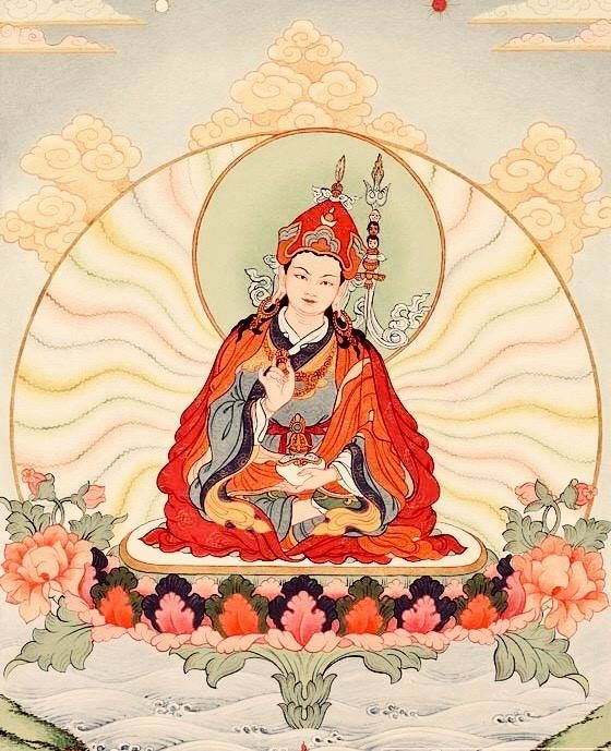 Your mind, the primordial buddha, searches elsewhere by the
